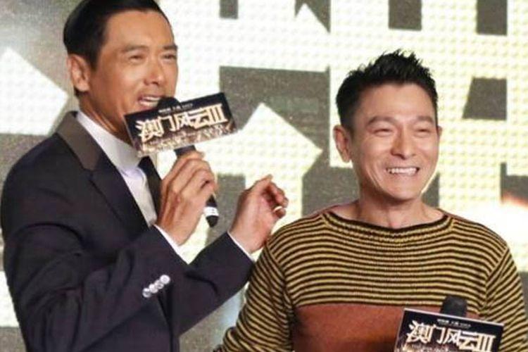 Andy Lau pernah buat kesal Chow Yun Fat