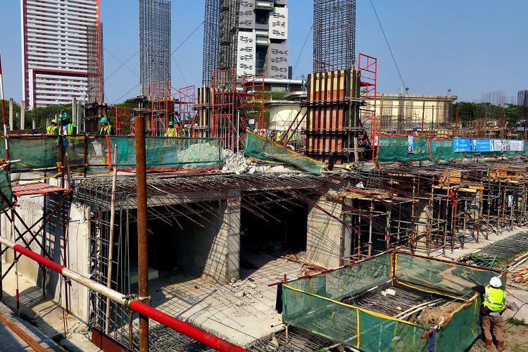 Progres Konstruksi The Lana telah mencapai level 2, Kamis (14/8/2019). Apartemen ini dijadwalkan serah terima pada akhir 2020.