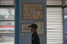 Lawan Stigma, Lukisan Karya Orang Gangguan Jiwa Dipamerkan di Halte Harmoni