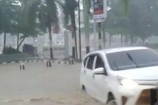 Banjir Rendam Ratusan Rumah dan Pusat Kota Pangkal Pinang