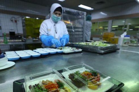 150 Koki Aerofood ACS Siapkan Makanan untuk Rombongan Raja Salman