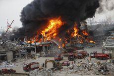 Pelabuhan Beirut Lebanon Terbakar Lagi, Api dari Kontainer Minyak