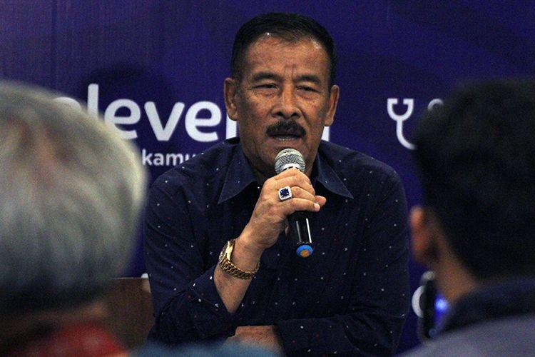 Manajer Persib Bandung, Umuh Muchtar. (KOMPAS.com/SEPTIAN NUGRAHA)