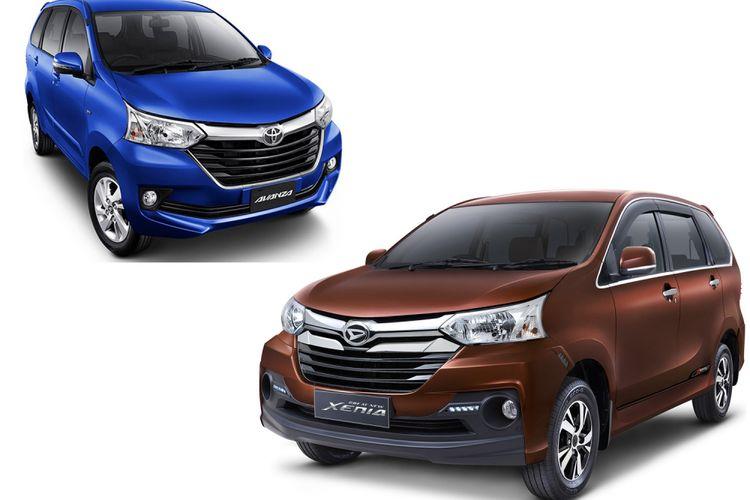 Toyota Avanza dan Daihatsu Xenia