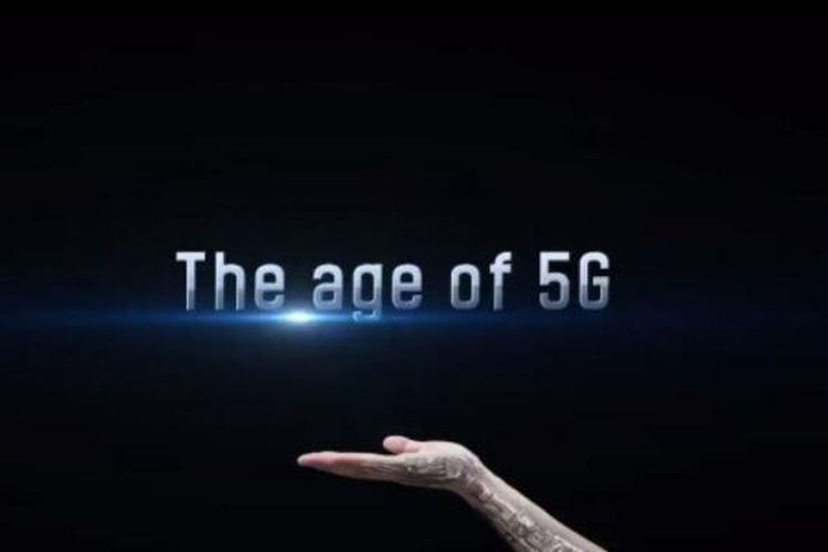 ilustrasi inernet 5G