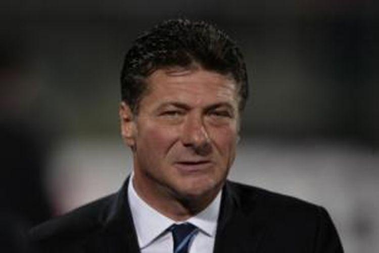 Pelatih Inter Milan, Walter Mazzarri.