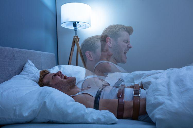 Ilustrasi sleep paralysis