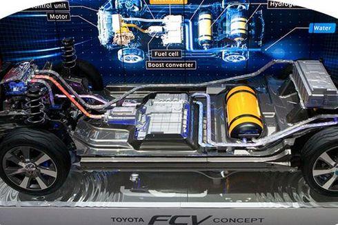 Toyota Danai Infrastruktur Hidrogen di AS