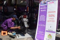 Warga Jawa Timur Mulai Nikmati Layanan Servis Motor Online