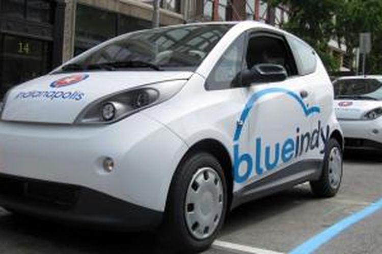 Mobil kota dua pintu hasil kolaborasi Bollore Group dengan Pininfarina.
