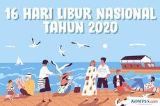 INFOGRAFIK: Daftar 16 Hari Libur Nasional 2020