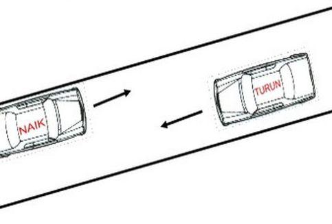 Pahami Aturan Mengemudikan Mobil di Tanjakan dan Turunan