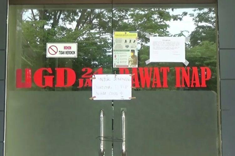 Pelayanan Kesehatan 2 Puskesmas dan UGD di Polewali Mandar Ditutup