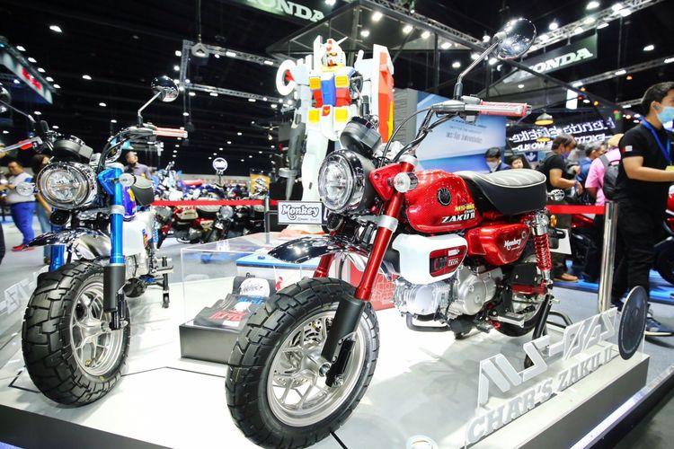 Honda Monkey versi Gundam edisi terbatas dirilis di Motor Expo 2020 di Thailand