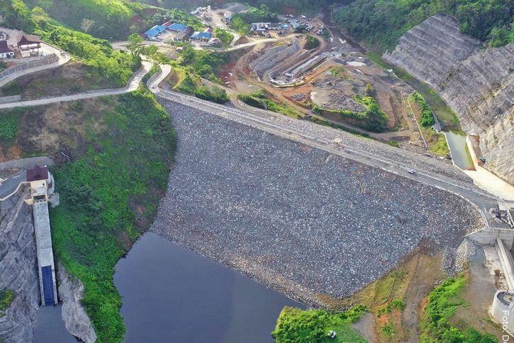 Bedungen Tapin di Kalimantan Selatan mulai diisi air