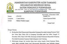 Soal Larangan Ibadah Natal di Rumah Warga, Ini Tanggapan Bupati Aceh Tamiang