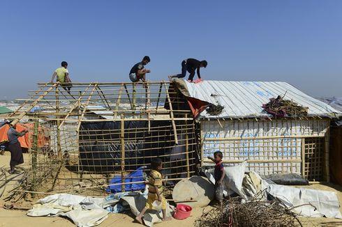 Tenda Pengungsi Rohingya Terbakar, Seorang Wanita dan Tiga Anak Tewas