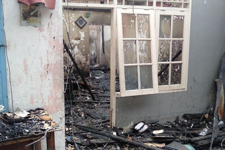 Lokasi korban kebakaran di kawasan Jalan Pemuda, RT 03/02,  Rawamangun, Jakarta Timur, Jumat (10/7/2020)
