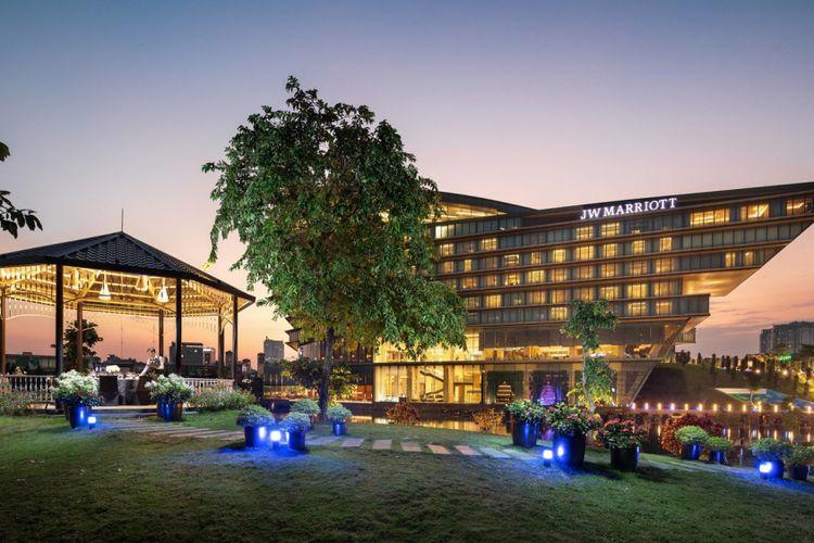 JW Marriott Hanoi, hotel tempat Donald Trump menginap selama kunjungan di Hanoi dalam agenda bertemu Kim Jong Un.