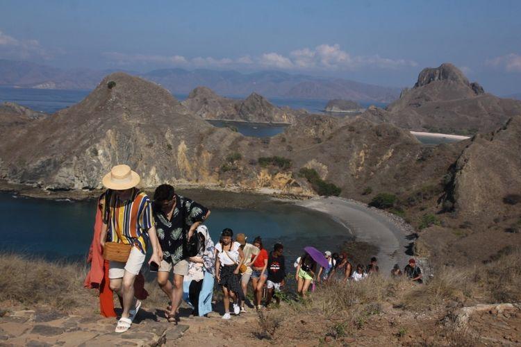 Obyek wisata Manggarai Barat menunggu diberlakukan New Normal serta dibuka kembali obyek wisata di TN Komodo, Jumat, (29/5/2020). (HANDOUT/BOPLF Manggarai Barat)