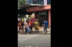 Viral, Video Belasan Gelandangan Adu Jotos di Lampu Merah, Ternyata gara-gara Ini
