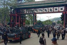 Kerusuhan Jayapura, 1 Prajurit TNI Gugur, 6 Brimob Luka-luka