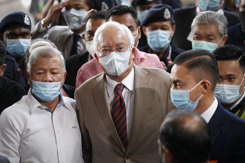 Jelang Sidang Putusan, Pendukung Najib Razak Teriak