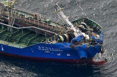 Kapal Tanker Tabrak Kapal Kargo di Jepang, 3 Awak Kapal Masih Hilang