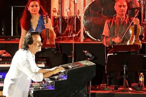 Kemegahan Aksi Panggung Yanni dan Orkestra di Prambanan Jazz 2019