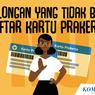 INFOGRAFIK: Golongan yang Tidak Bisa Daftar Program Kartu Prakerja