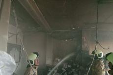 Kebakaran di Kantor Bank UOB Kebon Jeruk