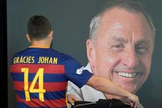 Demi Cruyff, Barcelona Lucuti Logo Piala Dunia Antarklub