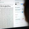 Media AS New York Times Tampilkan Nama Korban Meninggal Covid-19 di Halaman Depan