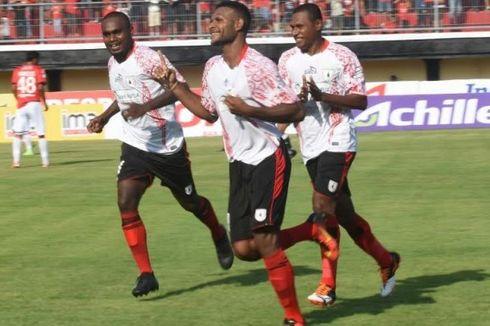 Hasil Liga 1, Persipura Menang atas Bali United