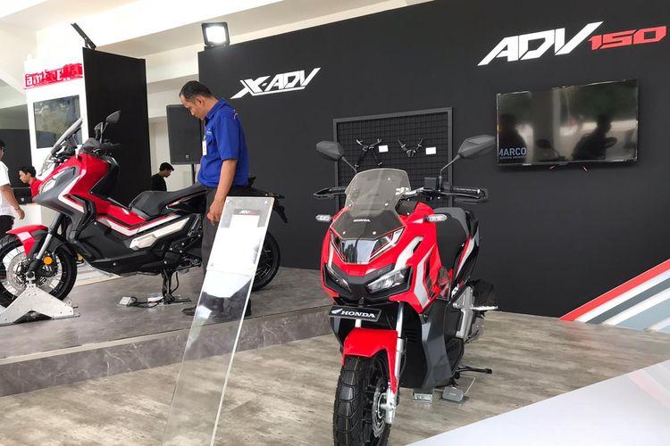 Beragam diskon motor baru dan aksesoris Honda tersedia di IIMS Moto Bike Expo