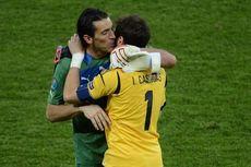 Buffon Semakin Kagum terhadap Casillas