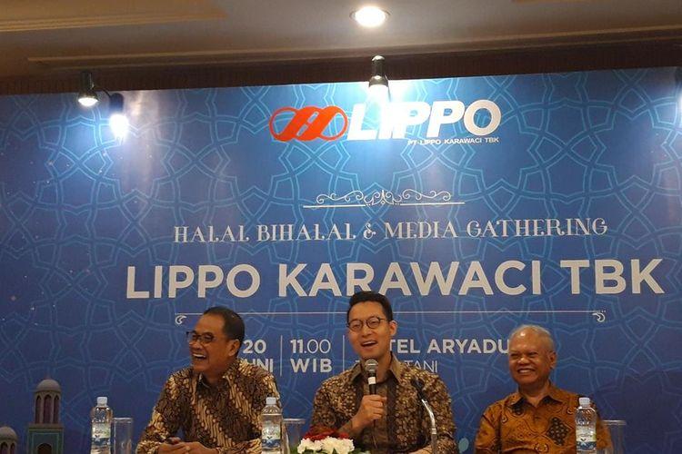 CEO PT Lippo Karawaci Tbk (LPKR) John Riady di Jakarta, Kamis (20/6/2019).