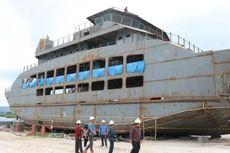 Akhir 2018, 4 Kapal Ro-Ro Segera Beroperasi di Danau Toba