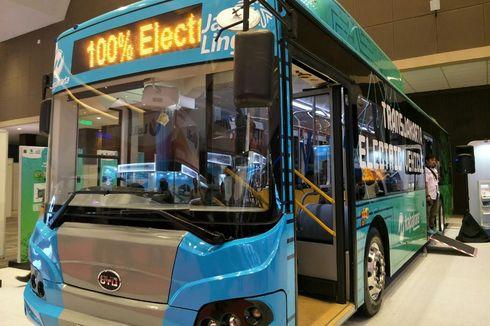 Mei 2019, Transjakarta Uji Coba 10 Bus Listrik Ramah Lingkungan