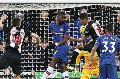 Newcastle Vs Chelsea, Gol Dramatis Hayden Menangkan The Magpies