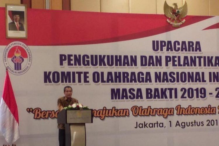 Deputi Pencegahan Komisi Pemberantasan Korupsi (KPK), Pahala Nainggolan mengatakan sebaiknya belajar dari Panitia Asian Games 2018 (INASGOC) yang membawa olahraga bisa jadi industri.