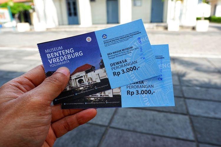 Tiket Masuk Museum Benteng Vredeburg, Yogyakarta DOK. Shutterstock/HariPrasetyo