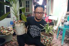 Choirul Anwar Sulap Limbah Popok Jadi Pot Bunga hingga Pupuk Cair