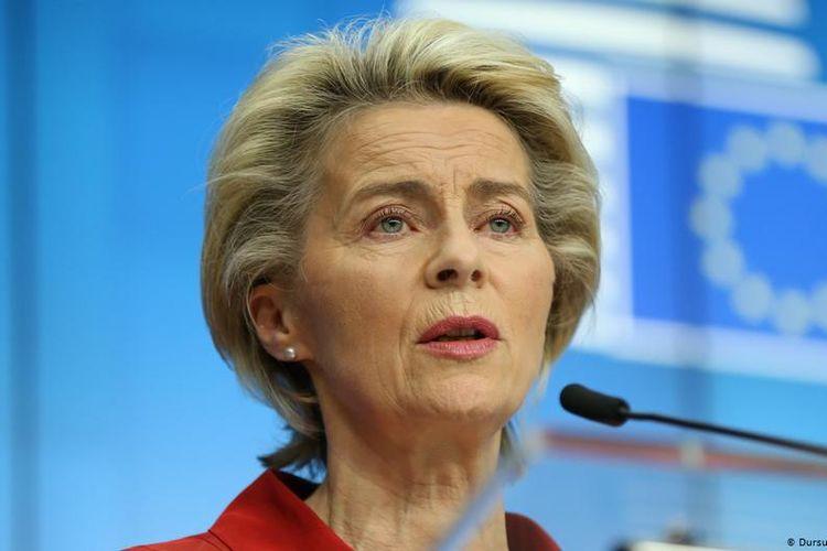 Presiden Komisi Eropa Ursula von der Leyen.