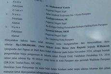 Surat Aliran Dana Dinkes Beredar di Medsos, Catut Nama Wali Kota Parepare