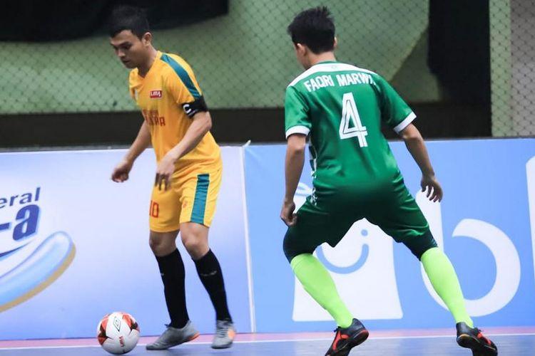 Pada laga Liga Mahasiswa Futsal Nationals Season 7 di Malang, Sekolah Tinggi Ilmu Ekonomi Bhakti Pembangunan (STIE BP), Jakarta kalahkan Politeknik Negeri Sriwijaya (Polsri) Palembang, dengan skor 3-2, Rabu (27/11/2019).