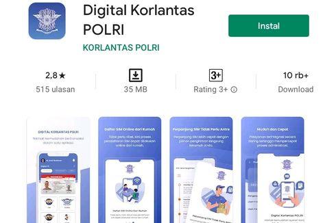 Perpanjangan SIM via Aplikasi Digital Korlantas Polri, Ini Tahapannya