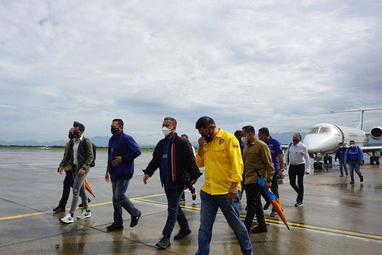 Dorna Sports dan FIM meninjau kesiapan Bandara Internasional Lombok