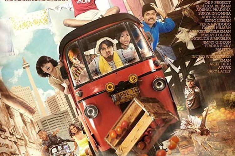 Sitkom populer tahun 2000-an Bajaj Bajuri, dijadikan film layar lebar berjudul Bajaj Bajuri The Movie.