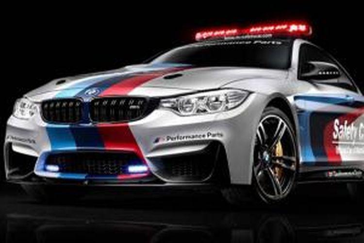 BMW M4 Coupe yang akan dipakai sebagai safety car dalam MotoGP 2014.